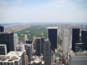Central Park and Manhattan